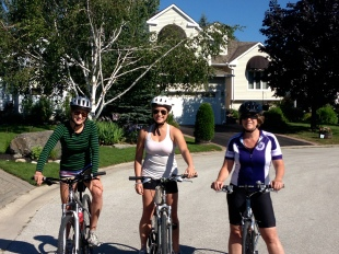 Biking with the girls!